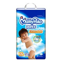 Tã quần MamyPoko Boys size XXL 38 miếng (trẻ từ 15 - 25kg)