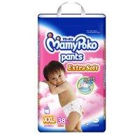 Tã quần MamyPoko Girls size XXL 38 miếng (trẻ từ 15 - 25kg)