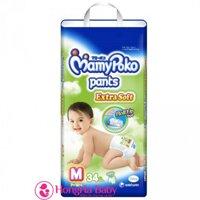 Tã quần MamyPoko M34 (cho bé từ 7-12kg)