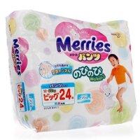 Tã quần Merries XL24 (dành cho trẻ từ 12-22kg)