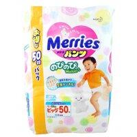 Tã quần Merries XL50