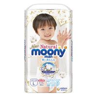 Tã quần Moony Natural L36 - 36 miếng (cho bé từ 9-14kg)