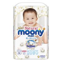 Tã quần Moony Natural M46 - 46 miếng (cho bé từ 5-10kg)