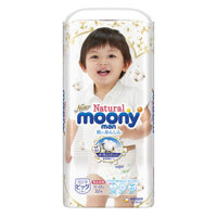Tã quần Moony Natural XL32 - 32 miếng (cho bé từ 10-22kg)