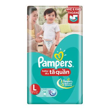 Tã quần Pampers L52