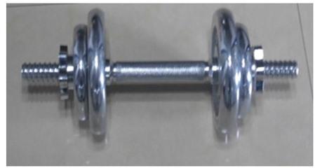 Tạ tay mạ crôm loại 10kg NT341A