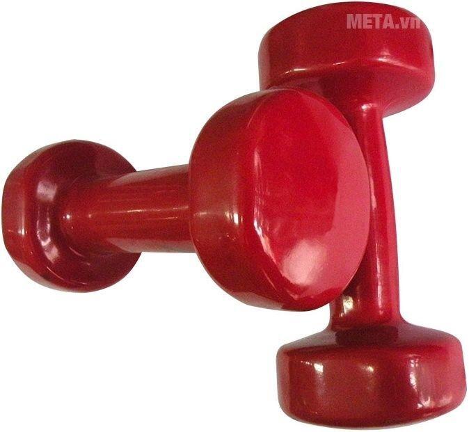 Tạ tay thép bọc cao su XD-01 - 6kg