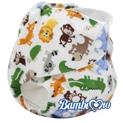 Tã vải Jungle Bambi Mio (3kg -16kg)