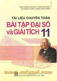 Tài liệu chuyên toán bài tập đại số và giải tích 11