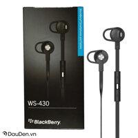 Tai nghe BlackBerry WS-430 Premium Headset 3.5mm chính hãng