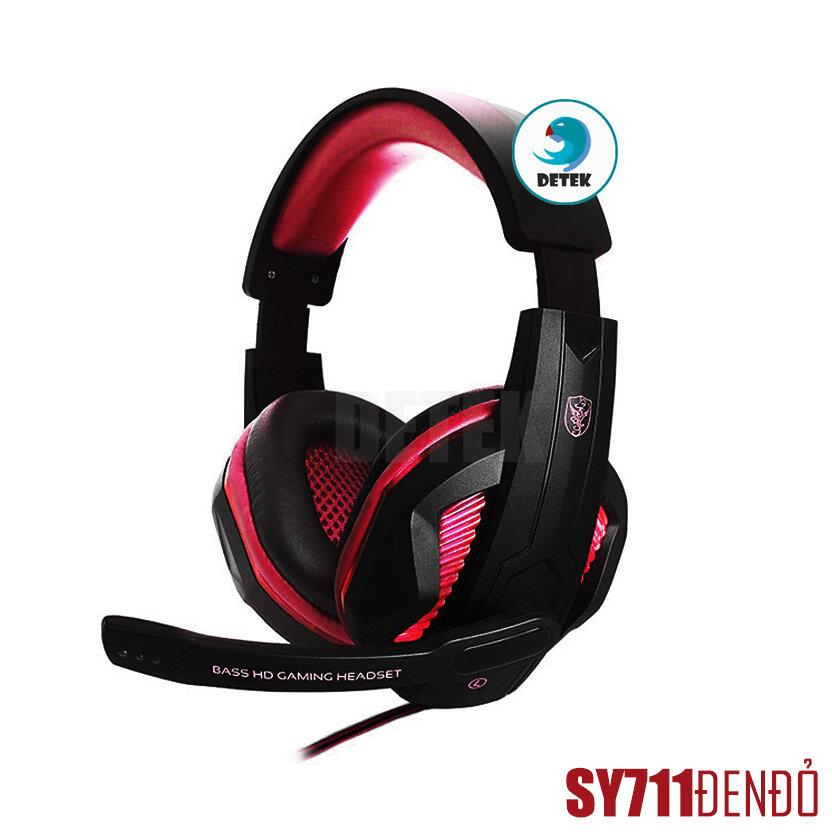 Tai nghe game thủ Soyto SY711, có dây