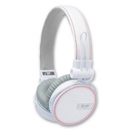 Tai nghe iLuv model ROCKefeller (WHT)-IHP636WHT