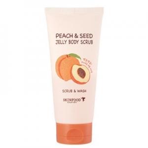 Tẩy da chết Skinfood Peach & Seed Jelly Body Scrub 200g