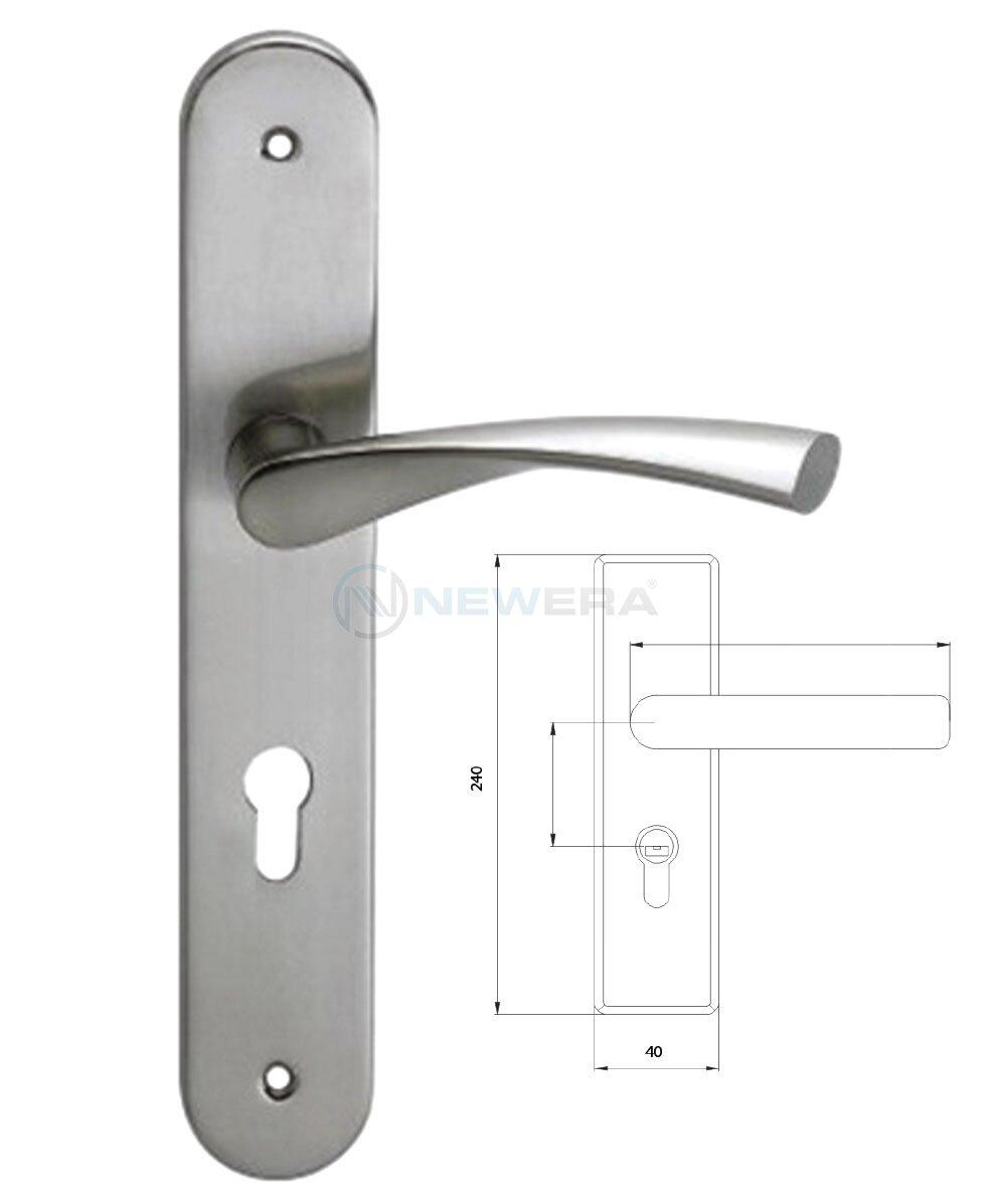 Tay gạt khóa cửa NewEra NE1045AB