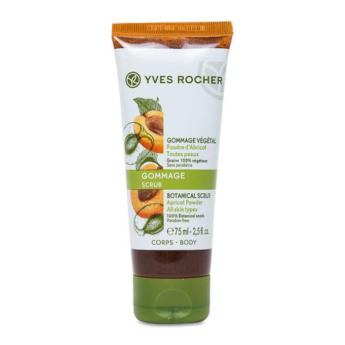 Tẩy tế bào chết cho cơ thể từ hạt mơ Yves Rocher Botanical Scrub Apricot 75ml