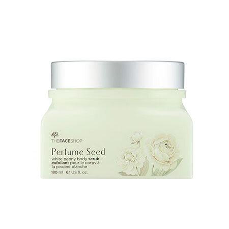 Tẩy tế bào chết làm trắng da TheFaceShop Perfume Seed White Peony Body Scrub 180ml