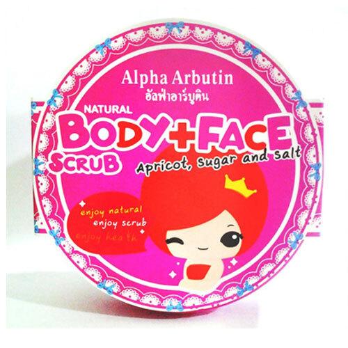 Tẩy tế bào chết mặt và toàn thân Alpha Arbutin Body Face Scrub