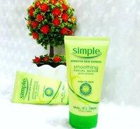 Tẩy Tế Bào Chết Simple Sensitive Skin Experts Smoothing Facial Scrub