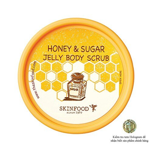 Tẩy Tế Bào Chết Skinfood Honey Sugar Jelly Body Scrub
