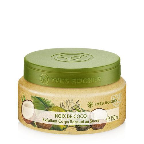 Tẩy tế bào chết toàn thân từ dừa Yves Rocher Coconut Sensual Sugar Body Scrub 150ml