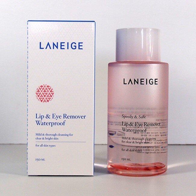 Tẩy Trang Mắt Môi Laneige Lip & Eye Remover Waterproof 150ml