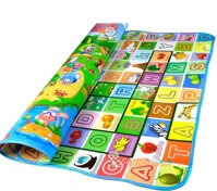 Thảm chơi cho bé 2 lớp ( 200 x 180 x 0.5 cm)