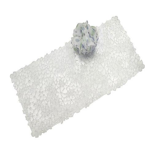 Thảm nhựa nhà tắm hình hoa Blumz
