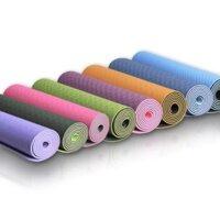 Thảm tập yoga TPE 2 lớp siêu bền, siêu nhẹ 6mm