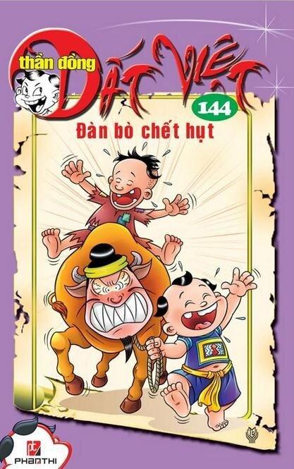 Thần đồng đất Việt (T144): Đàn bò chết hụt - Nhiều tác giả