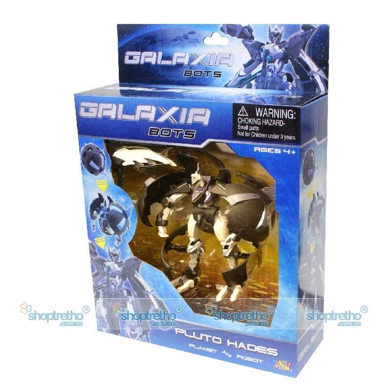 Thần hộ vệ biến hình sao diêm vương Hades Galaxia Bot G8016