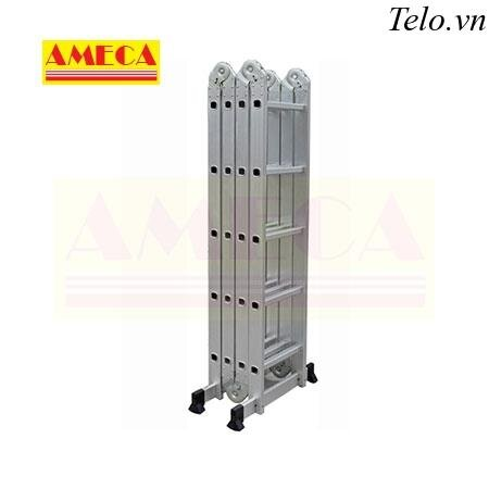 Thang gấp Ameca 4 đoạn AMC-M205