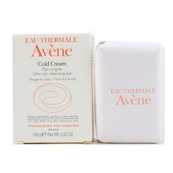Thanh kem rửa mặt và tắm cho da khô Avene Cold Cream Ultra Rich Cleansing Bar 100ml
