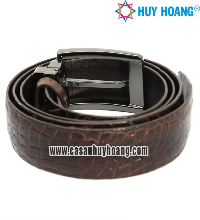 Thắt lưng da cá sấu Huy Hoàng HH4214