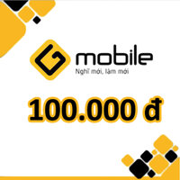 Thẻ cào Gmobile mệnh giá 100.000 đồng