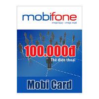 Thẻ cào MobiFone mệnh giá 100.000