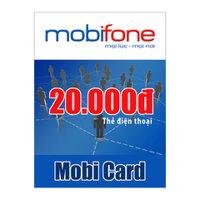 Thẻ cào MobiFone mệnh giá 20.000