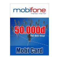 Thẻ cào MobiFone mệnh giá 50.000
