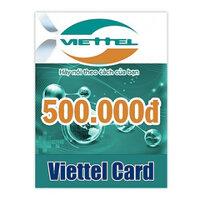 Thẻ cào Viettel mệnh giá 500.000 đồng
