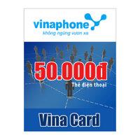 Thẻ cào Vinaphone mệnh giá 50.000 đồng