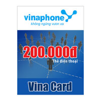 Thẻ cào Vinaphone mệnh giá 200.000 đồng