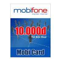 Thẻ điện thoại Mobifone 10.000 đồng