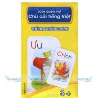 Thẻ học thông minh - Làm quen với chữ cái tiếng Việt