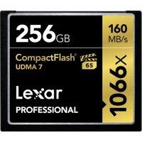 Thẻ nhớ 256GB CompactFlash Lexar Professional 1066x