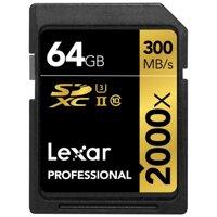 Thẻ nhớ 64GB SDXC Lexar Professional 2000x