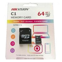 Thẻ nhớ camera Hikvision HS-TF-C1 - 64GB