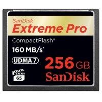 Thẻ nhớ CF SanDisk Extreme Pro 160MB/s 256GB 1067X
