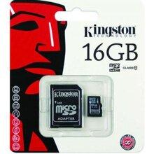 Thẻ nhớ Kingston Micro SDHC Class 10 - 16GB