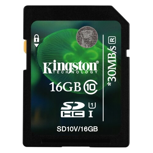 Thẻ nhớ Kingston SDHC 16GB class 10 UHS-I