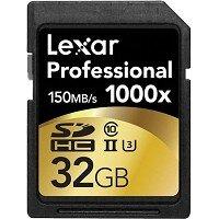 Thẻ nhớ Lexar Professional SDXC 1000X 32GB