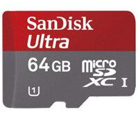 Thẻ nhớ Micro SD 64GB Sandisk C10 80Mb/s